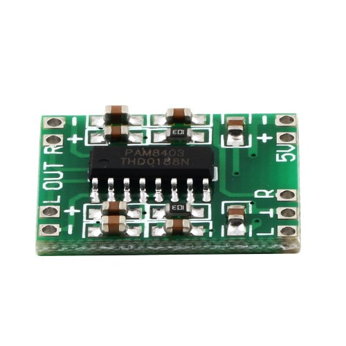 Pam8403 Ultra Miniature Digital Power Amplifier Board Class D 2X3W