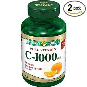 Natures-Bounty-Vitamin-C-1000mg-100-Caplets-Pack-of-2