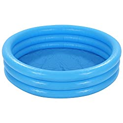 INTEX Crystal Kids Blue Outdoor Inflatable 58 Swimming Pool | 58426EP