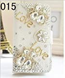 CyberStyle(TM) Hot New Samsung Galaxy S3 I9300 Case Rural Pretty Flower Floral Scrub Case (White) + Free Clear Screen Protector