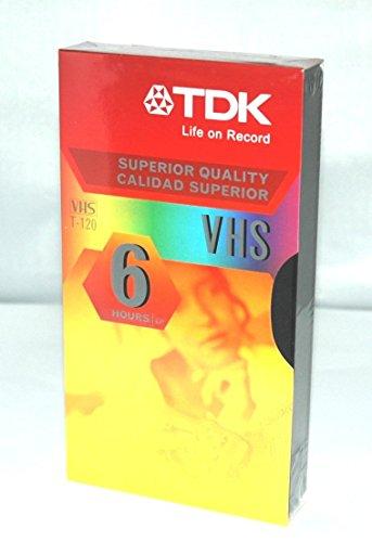 Why Choose TDK T-120 VHS Cassette - 6 Hour