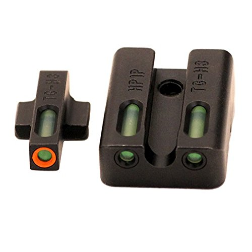 Truglo Brite-Site TFX Pro, Sight, Fits VP9,VP40,P30,P30SK,P30L,45 & 45TACTICAL (Including Compact), Tritium/Fiber-Optic, by TruGlo