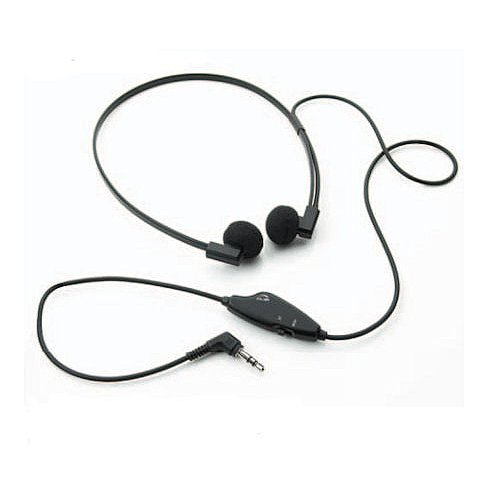 Spectra Sp-Vc5 3.5 Mm Mono/Stereo Dual Speaker Transcription Headset With Volume Control