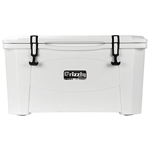 Grizzly Coolers Hunting Cooler, White/White, 60-Quart (Grizzly 60 Cooler compare prices)