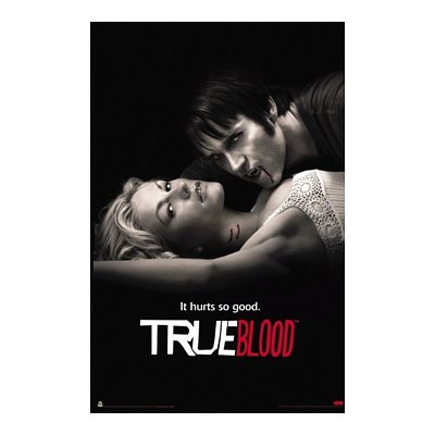 True Blood (It Hurts So Good) TV Poster Print - 24x36 Poster Print, 24x36