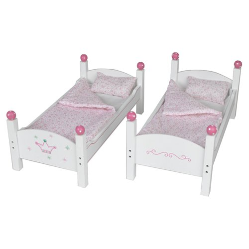 "Wooden Bunk Bed 18"" Doll American Girl McKenna Kanani Caroline Our ..."