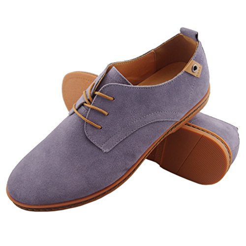 4. DADAWEN Men's Leather Oxford Shoe