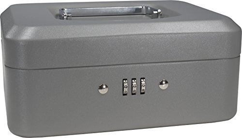 BARSKA 8-Inch Cash Box with Combination Lock (Combination Lock Boxes compare prices)