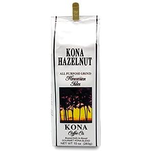 Kona Hazelnut Coffee - Ground 10 oz.