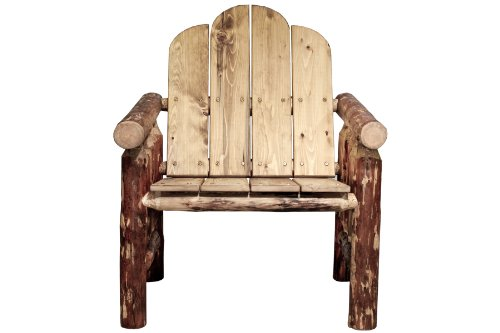 Montana Woodworks Glacier Country Collection Deck Chair, Exterior Finish picture