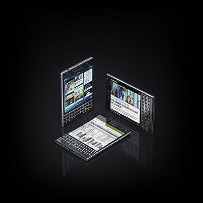 BlackBerry Passport (32GB, 3GB RAM,Piano Black, AZERTY Keypad)- International Version
