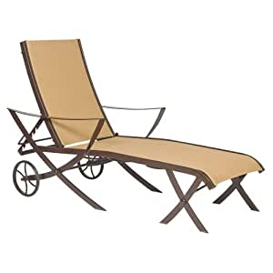 Adjustable Chaise Lounge Cromwell Sling Patio Lounge Chairs