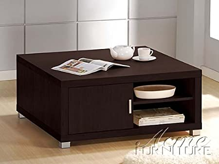 Tustin New Design Coffee Table in espresso Finish Acs60610