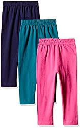 Sini Mini Girls Wonderful Tights Capri (Pack of 3)