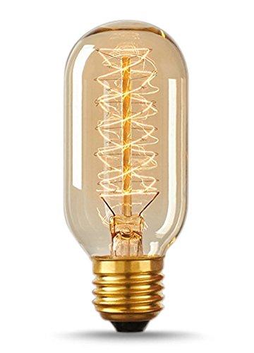 Vintage Antique Bulb 40w, Edison Style T14, Spiral Filament 0