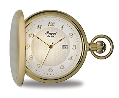 Rapport Pocket Watch PW70 Gold Plated Full Hunter