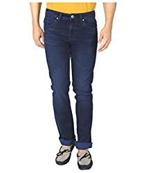 Killer Men's Slim Fit Jeans  (4166 GARRY SLMFT MDNGT_34W x 33L_Mid Night)