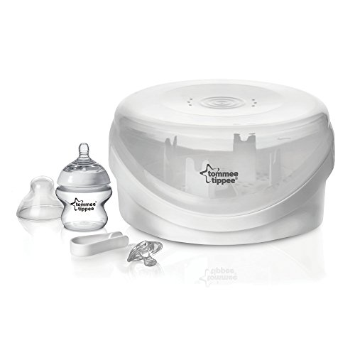 Closer To Nature Microwave Steriliser 423600 By Tommee Tippee