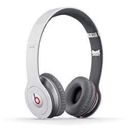 Beats By Dr. Dre Solo HD Headphone With Mic (White)