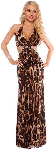 Цвет: коричневый леопардовым принтом