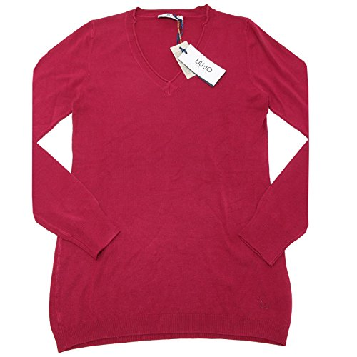 4587F maglia LIU JO MANICA LUNGA VISCOSA polo donna t-shirt women [L]