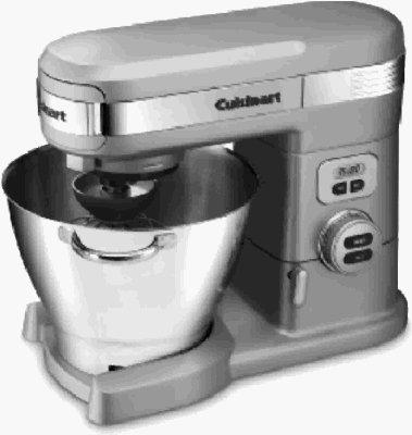 Cuisinart SM-55BC Cuisinart 5.5-Qt. 800-Watt Stand Mixer from Cuisinart