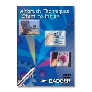 Badger Airbrush Techniques Start to Finish DVD