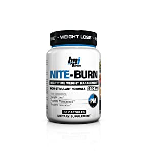 BPI Sports Nite Burn Capsules, 30 Count