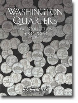 Harris Coin Folder - State Series Quarters Folders Vol II 2004-2008 #8HRS2581 - 1
