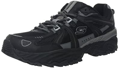 Skechers Men's Kirkwood Sneaker,Black Charcoal,9 M US