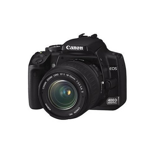 Canon EOS 400D Digital SLR Camera (incl. EF-S 18-55mm f/3.5-5.6 Lens Kit)