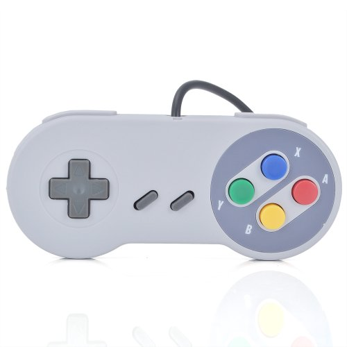 Atekcity New Wired SNES Super Nintendo Classic Controller Control Pad for SNES Systems