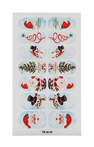 eozy nagelkunst aufkleber sticker weihnacht stil nail art. Black Bedroom Furniture Sets. Home Design Ideas