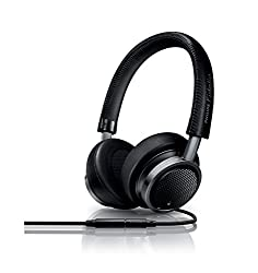 Philips M1MK11BK Fidelio Headphones with Microphone (Black)