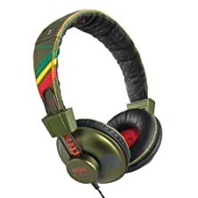 buy The House Of Marley Em-Jh010-Rt Positive Vibration - Jammin On-Ear Headphone - Roots