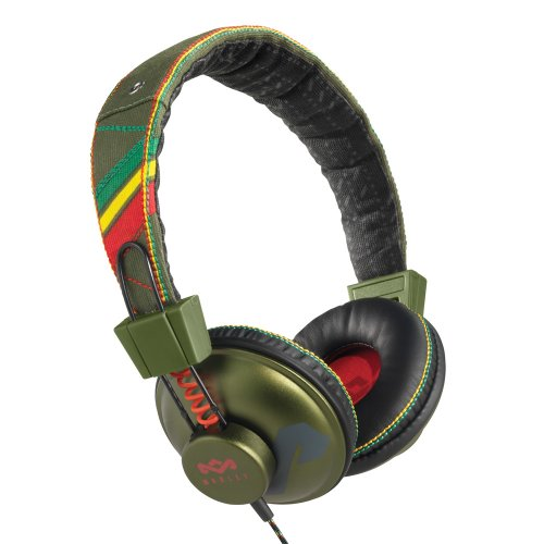 The House Of Marley Em-Jh010-Rt Positive Vibration - Jammin On-Ear Headphone - Roots