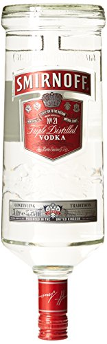 Smirnoff discount duty free Smirnoff Red Vodka 1.5l Plain Vodka