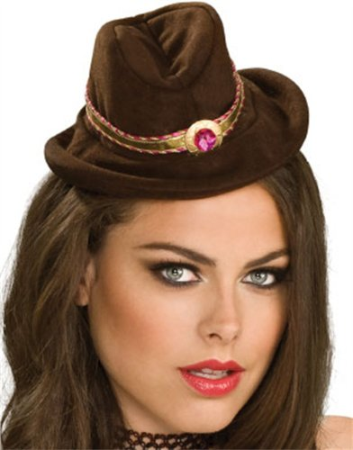 Rubie's Costume Co Brown Mini Cowboy Hat Costume - 1