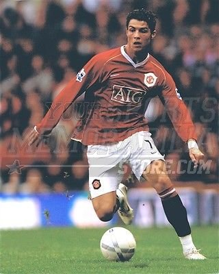 christian-ronaldo-manchester-united-soccer-kick-aig-8x10-11x14-16x20-photo-399