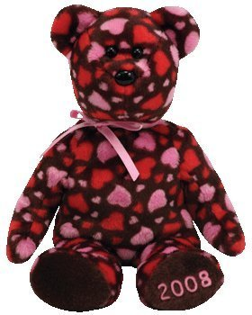 Ty Beanie Babies Hearts-a-Plenty - Bear (Hallmark Exclusive)