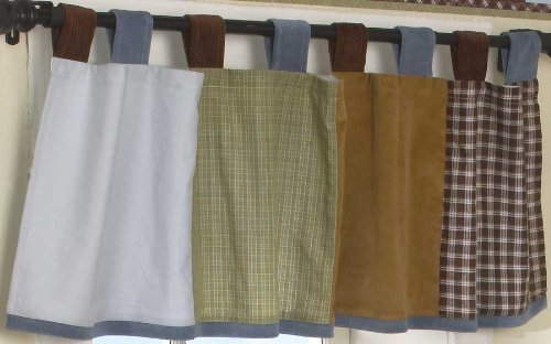 CoCaLo Window Valance, Sports Fan (Discontinued by Manufacturer) - 1