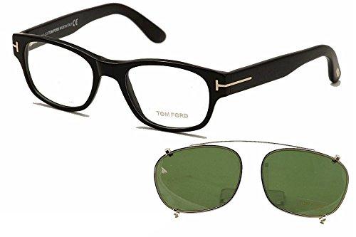 Tom Ford Glasses 5276V 001 Shiny Black 5276 Wayfarer Sunglasses Lens Category 3 (Tom Ford Glasses For Men compare prices)