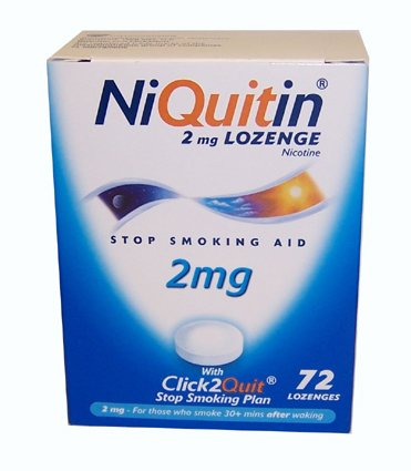 NiQuitin CQ 2mg Lozenges x 72