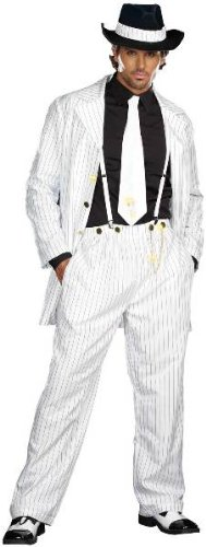 Zoot Suit Riot Adult Costume, Black & White, X-Large [Office Product]