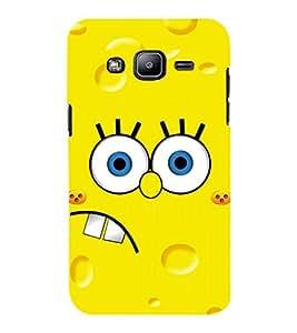 D KAUR Sponge Bob Back Case Cover for Samsung J2::Samsung Galaxy J2