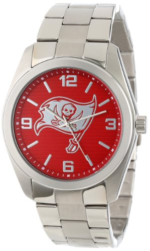 Game Time Unisex NFL-ELI-TB Elite Tampa Bay Buccaneers 3-Hand Analog Watch at Amazon.com