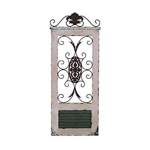 Elements Regal Gate Word and Metal Decorative Wall Decor
