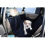Zone Tech Back Seat Pet Hammock, Black
