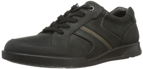 Ecco Transporter Oxford, Scarpe Stringate Uomo, Nero (Black/Warm Grey 54944), 44