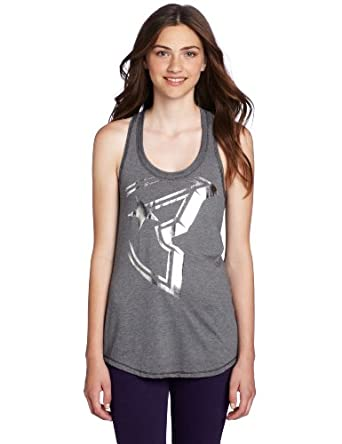 Famous Stars and Straps Juniors Rally Boh Tank Top, Black/Grey, Small